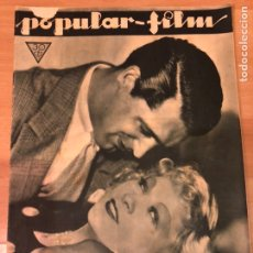 Cine: REVISTA POPULAR FILM ENER 1934 MAE WEST CARY GRANT.MARLENE DIETRICH.TOBY WING.GRETA GARBO.GABLE. Lote 211434752