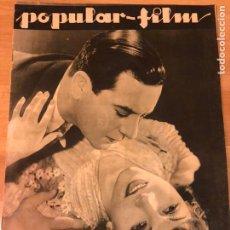 Cine: REVISTA POPULAR FILM SEP 1933.CLAUDETTE COLBERT BEN LYON.CHARITO LEONIS.MARLENE DIETRICH.TOM MIX. Lote 211435405