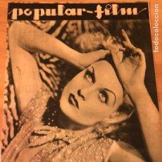 Cine: REVISTA POPULAR FILM SEP 1933 CAROLE LOMBARD.GLORIA SWANSON.WYNNE GIBSON.SYLVIA SIDNEY RAQUEL RODRIG. Lote 211435539