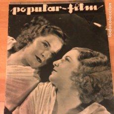 Cine: REVISTA POPULAR FILM DIC 1933 BARBARA STANWYCK.STAN LAUREL OLIVER HARDY.CLARA BOW.VAMPIRESAS 1933. Lote 211435736