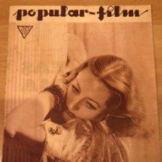 Cinéma: REVISTA POPULAR FILM MAY 1934 JOAN CRAWFORD.MAE WEST.CARY GRANT.NANCY CARROLL.LILIAN HARVEY. Lote 211495105