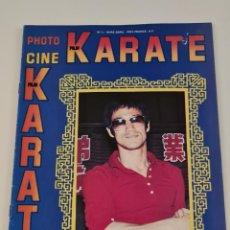Cine: BRUCE LEE REVISTA FRANCESA PHOTO CINE KARATE. Lote 211513191