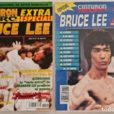 Cine: BRUCE LEE 2 REVISTAS CINTURÓN NEGRO. Lote 211519210