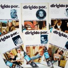 Cine: LOTE 6 REVISTAS - DIRIGIDO POR... - NUMS. 14, 15, 18, 21, 22 Y 25 - 1974, 1975 -. Lote 211561890