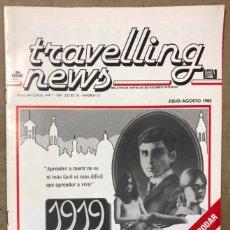 Cine: TRAVELLING NEWS (JULIO-AGOSTO 1983). EL RETORNO DEL JEDI. BOLETÍN DE NOTICIAS DE RÉGIMEN INTERNO. Lote 211629690