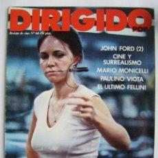 Cine: DIRIGIDO POR. REVISTA Nº 64. 1979.. Lote 211636239