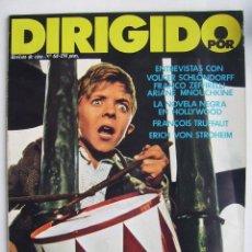 Cine: DIRIGIDO POR. REVISTA Nº 68. 1979.. Lote 211636470