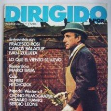 Cine: DIRIGIDO POR. REVISTA Nº 75.. Lote 211637489