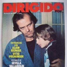 Cine: DIRIGIDO POR. REVISTA Nº 77.. Lote 211637625