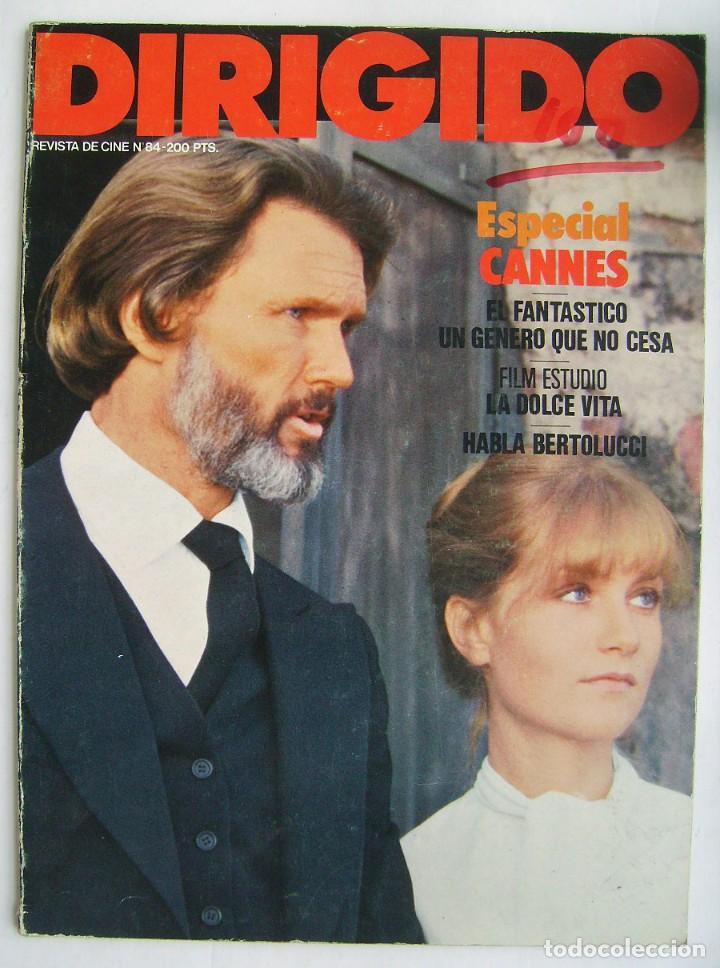 DIRIGIDO POR. REVISTA Nº 84. 1981. (Cine - Revistas - Dirigido por)