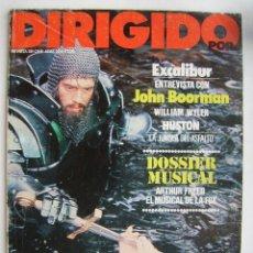 Cine: DIRIGIDO POR. REVISTA Nº 85. 1981.. Lote 211637859