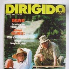 Cine: DIRIGIDO POR. REVISTA Nº 91. 1982.. Lote 211637985
