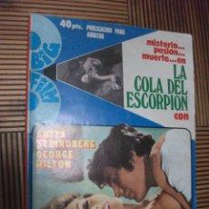 Cine: LA COLA DEL ESCORPION, GEORGE HILTON. Lote 211640873