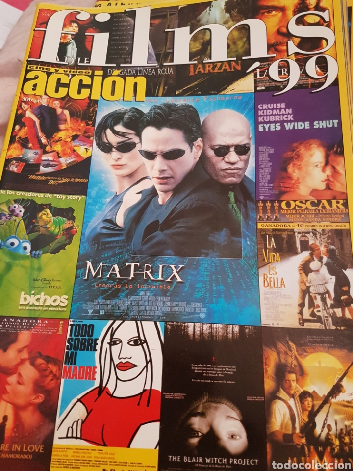 PP11//ACCION/FILMS 99 (Cine - Revistas - Acción)