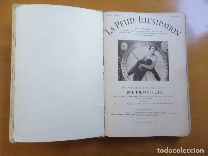 VOLUMEN FACTICIO DE LA PETITE ILLUSTRATION, MONOGRAFICO DEL FILM METROPOLIS DE FRITZ LANG.1928 (Cine - Revistas - Otros)