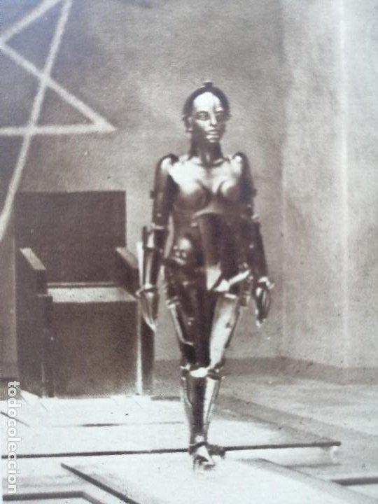 Cine: Volumen facticio de La Petite Illustration, monografico del film Metropolis de Fritz Lang.1928 - Foto 5 - 211746568
