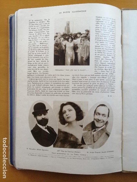 Cine: Volumen facticio de La Petite Illustration, monografico del film Metropolis de Fritz Lang.1928 - Foto 12 - 211746568