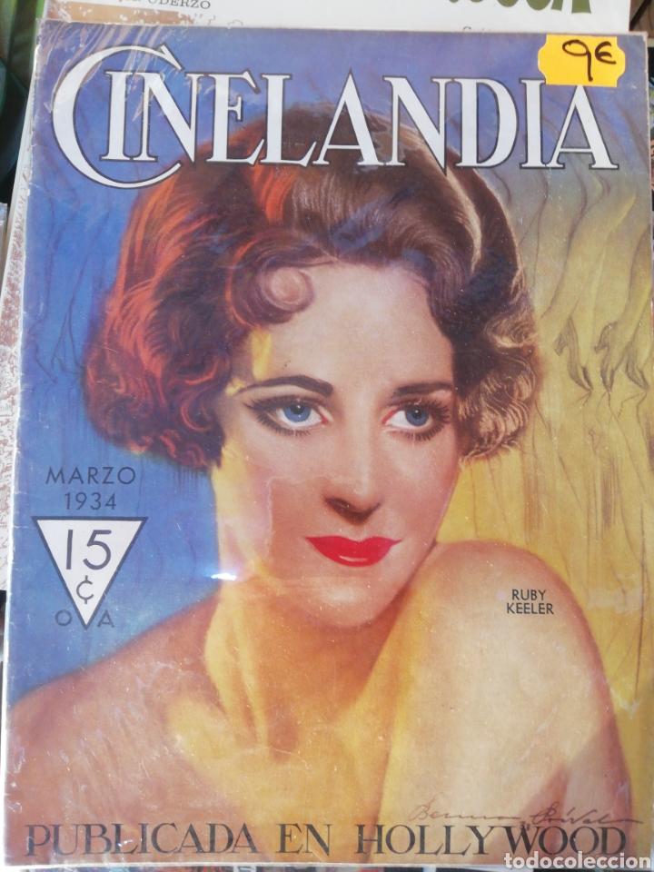 CINELANDIA, MARZO 1934. (Cine - Revistas - Cinelandia)