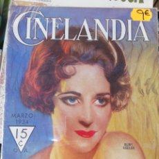 Cine: CINELANDIA, MARZO 1934.. Lote 211923322