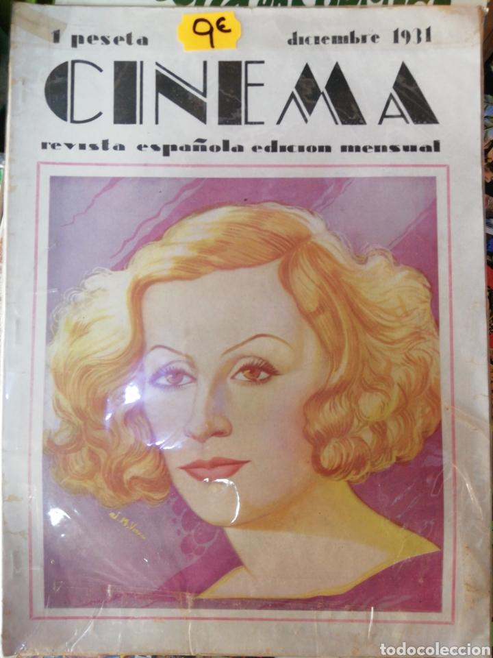 CINEMA, DICIEMBRE 1931 (Cine - Revistas - Cinema)