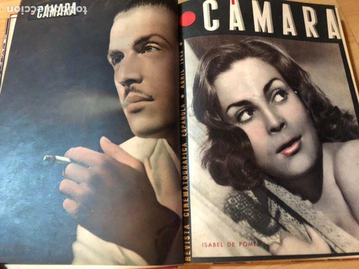 Cine: Tomo encuadernado revista cámara.concha piquer.amparo rivelles.mercedes vecino.greta garbo - Foto 5 - 212123291