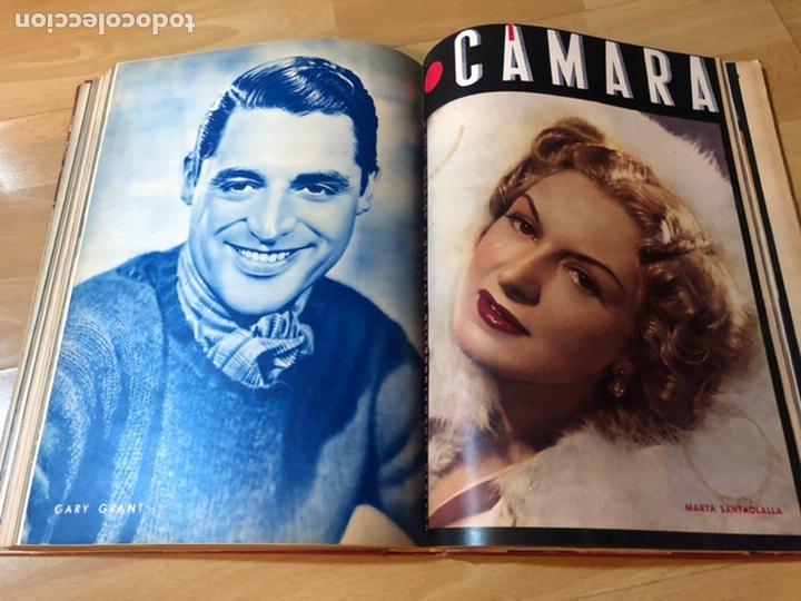 Cine: Tomo encuadernado revista cámara.concha piquer.amparo rivelles.mercedes vecino.greta garbo - Foto 15 - 212123291
