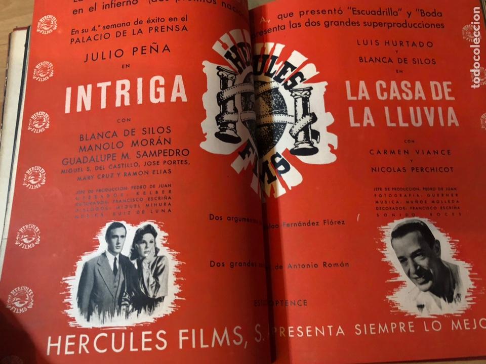 Cine: Tomo encuadernado revista cámara.concha piquer.amparo rivelles.mercedes vecino.greta garbo - Foto 28 - 212123291