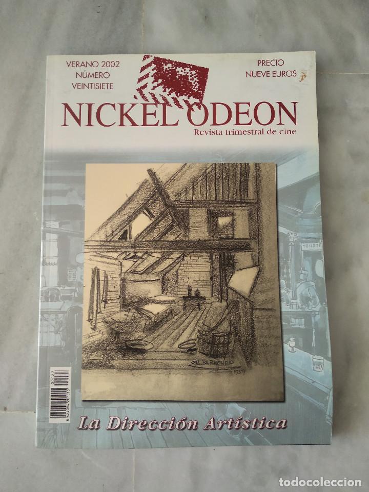 NICKEL ODEON - 27 - VERANO 2002 - LA DIRECCIÓN ARTÍSTICA (Cine - Revistas - Nickel Odeon)