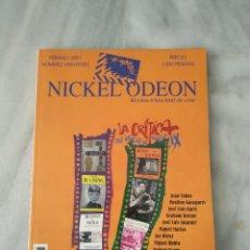 Cine: NICKEL ODEON - 23 - VERANO 2001 - LA CRÍTICA. EL OFICIO DEL SIGLO XX. Lote 212143392