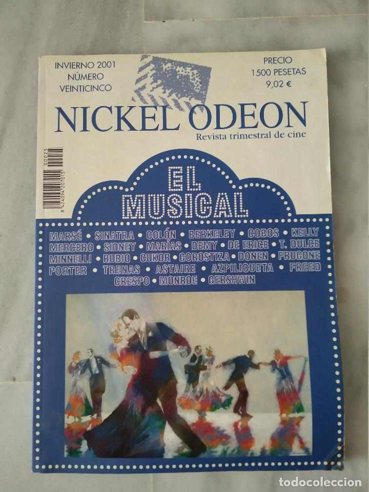 NICKEL ODEON - 25 - INVIERNO 2001 - EL MUSICAL (Cine - Revistas - Nickel Odeon)