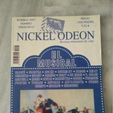 Cine: NICKEL ODEON - 25 - INVIERNO 2001 - EL MUSICAL. Lote 212143445