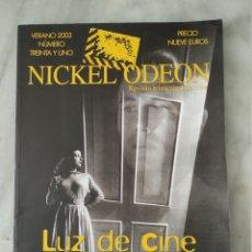 Cinéma: NICKEL ODEON - 31 - VERANO 2003 - LUZ DE CINE. Lote 212143516