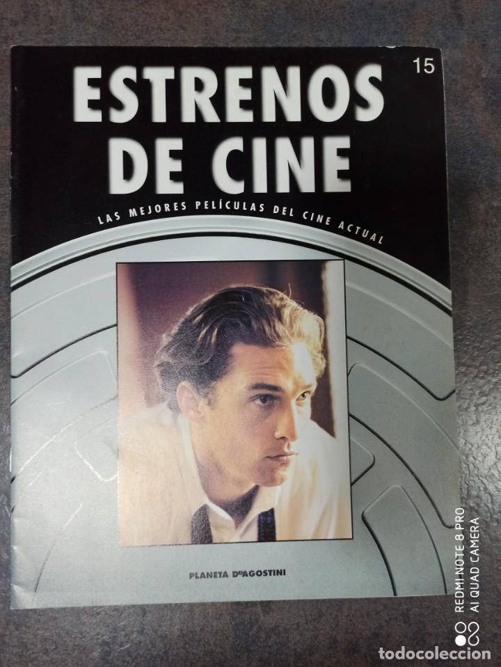 MATHEW MCCONAUGHEY. ESTRENOS DE CINE. LAS MEJORES PELÍCULAS DEL CINE ACTUAL (Cine - Revistas - Papeles de cine)