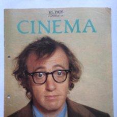 Cine: FASCICULO COLECCIONABLE - EL PAIS - CINEMA 14 - WOODY ALLEN. Lote 212429521