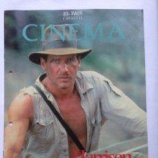 Cine: FASCICULO COLECCIONABLE - EL PAIS - CINEMA 13 - HARRISON FORD. Lote 212429537