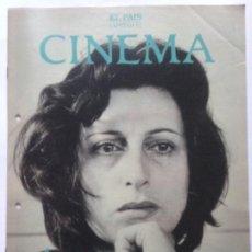 Cine: FASCICULO COLECCIONABLE - EL PAIS - CINEMA 12 - ANNA MAGNANI. Lote 212429557