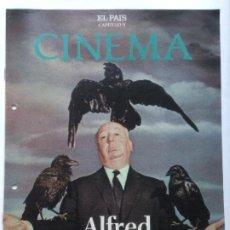 Cine: FASCICULO COLECCIONABLE - EL PAIS - CINEMA 9 - ALFRED HITCHCOCK. Lote 212429593