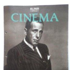 Cine: FASCICULO COLECCIONABLE - EL PAIS - CINEMA 5 - BOGART. Lote 212429647