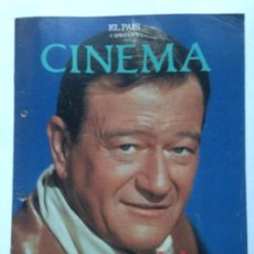 Cine: FASCICULO COLECCIONABLE - EL PAIS - CINEMA 3 - JOHN WAYNE. Lote 212429655