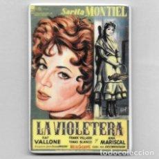 Cine: IMAN PORCELANA NEVERA - CINE: LA VIOLETERA (SARA MONTIEL). Lote 212541732