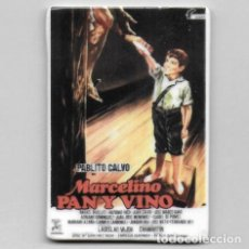 Cine: IMAN PORCELANA NEVERA - CINE: MARCELINO PAN Y VINO. Lote 212541831