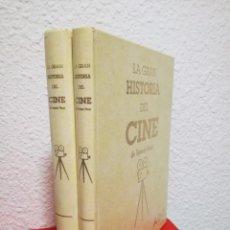 Cine: LA GRAN HISTORIA DEL CINE DE TERENCI MOIX CAPÍTULOS 1 - 80 ENCUADERNADOS 2 TOMOS. ABC, 1995. Lote 212599520