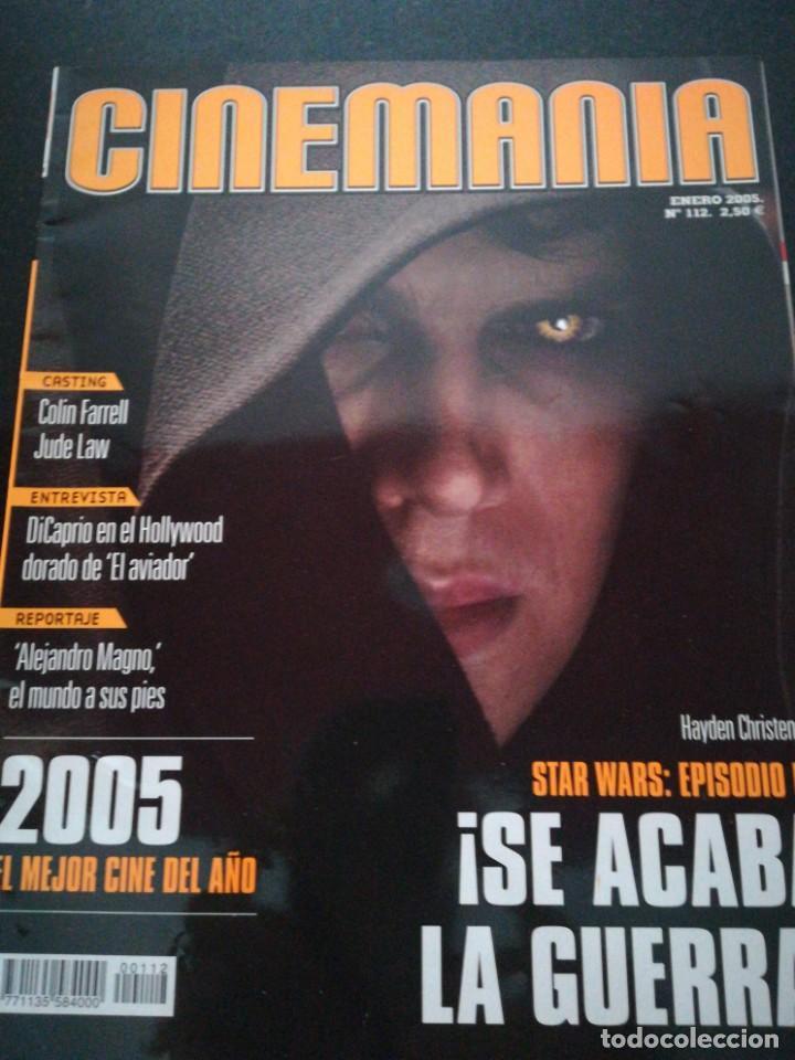 REVISTA CINEMANIA N112 ESPECIAL STAR WARS (Cine - Revistas - Cinemanía)