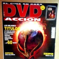 Cinéma: DVD ACCIÓN Nº 55. Lote 212945126