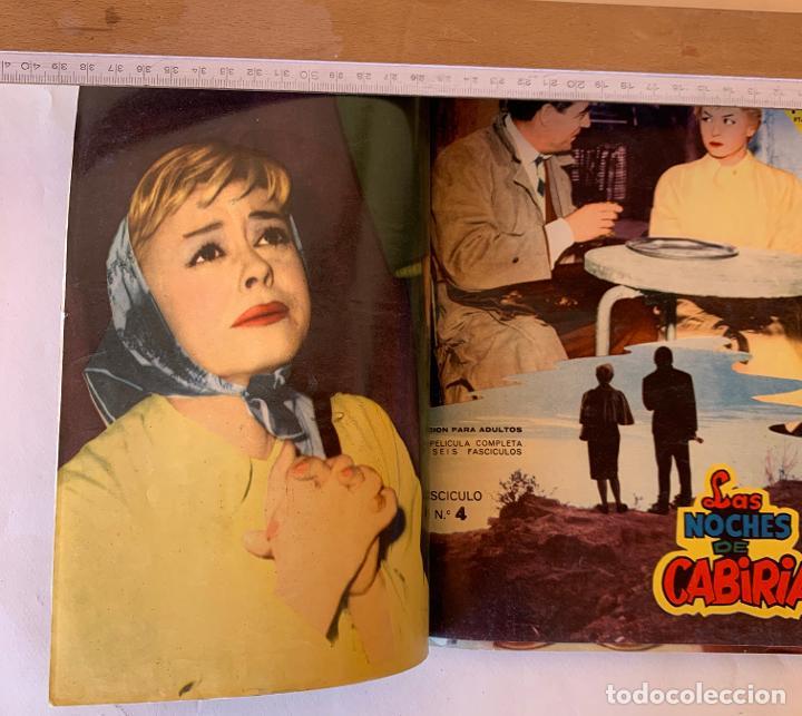 Cine: Las noches de Cabiria.Completa 6 ejemplares.Colección Mandolina Cine Ensueño. Fher Bilbao 1959. - Foto 3 - 212951508