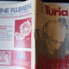 Cine: CARTELERA TURIA N 987 ENERO 1983. Lote 212997683