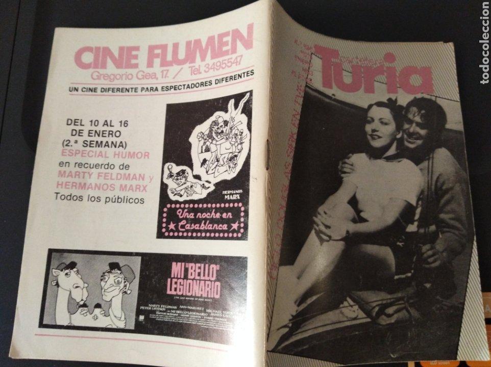 CARTELERA TURIA N 988 ENERO 1983 (Cine - Revistas - Otros)
