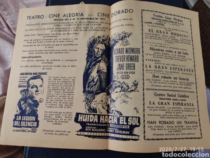 Cine: 2 Circuitos cinematográficos año 1957 - Foto 2 - 213011073