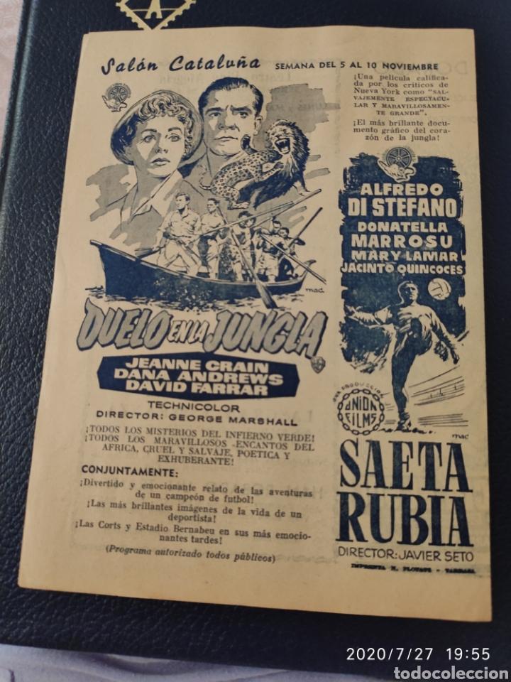 Cine: 2 Circuitos cinematográficos año 1957 - Foto 3 - 213011073