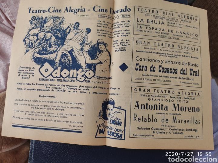 Cine: 2 Circuitos cinematográficos año 1957 - Foto 5 - 213011073